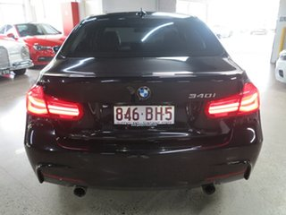 2015 BMW 3 Series F30 LCI 340i M Sport Black 8 Speed Sports Automatic Sedan