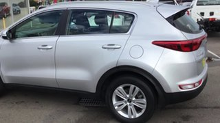 2018 Kia Sportage QL MY18 Si 2WD Silver 6 Speed Sports Automatic Wagon.
