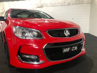2017 Holden Commodore VF II MY17 SV6 Red Hot 6 Speed Sports Automatic Sedan