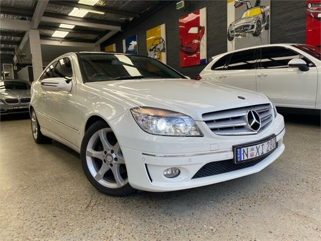 Used Mercedes-Benz CLC-Class CL203 CLC200 Kompressor Glebe, 2008 Mercedes-Benz CLC-Class CL203 CLC200 Kompressor White Automatic Coupe