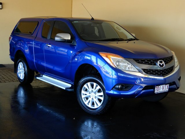 Used Mazda BT-50 MY13 XTR (4x4) Toowoomba, 2014 Mazda BT-50 MY13 XTR (4x4) Blue 6 Speed Automatic Freestyle Utility