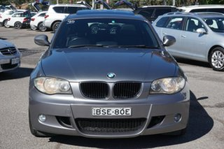 2010 BMW 1 Series E87 MY10 118d Steptronic Grey 6 Speed Sports Automatic Hatchback.