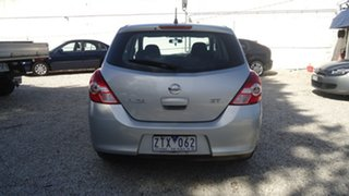2011 Nissan Tiida C11 S3 ST Silver 4 Speed Automatic Hatchback