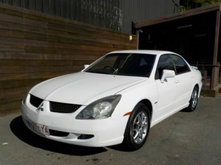 2004 Mitsubishi Magna TL VR AWD White 5 Speed Sports Automatic Sedan