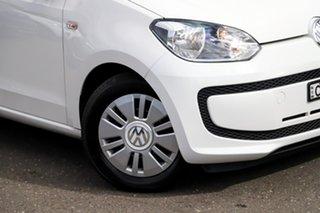 2013 Volkswagen UP! Type AA MY13 White 5 Speed Manual Hatchback