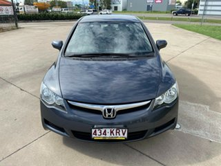 2008 Honda Civic 8th Gen MY08 VTi Grey/290208 5 Speed Automatic Sedan
