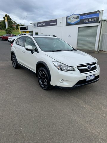 Used Subaru XV G4X MY12 2.0i-S Lineartronic AWD Warrnambool East, 2012 Subaru XV G4X MY12 2.0i-S Lineartronic AWD Satin White 6 Speed Constant Variable Wagon