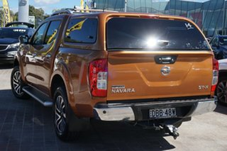 2015 Nissan Navara D23 ST-X Orange 7 Speed Sports Automatic Utility