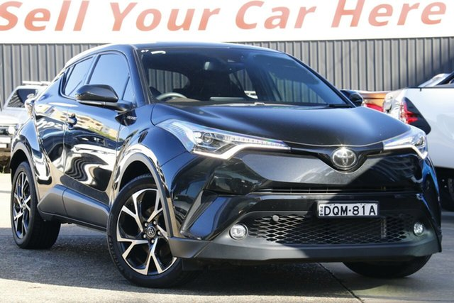 Used Toyota C-HR NGX50R Koba S-CVT AWD Homebush, 2017 Toyota C-HR NGX50R Koba S-CVT AWD Black 7 Speed Constant Variable Wagon