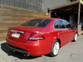 2009 Ford Falcon FG G6 Limited Edition Red 4 Speed Sports Automatic Sedan