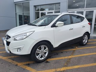 2013 Hyundai ix35 LM2 Elite White 6 Speed Sports Automatic Wagon.