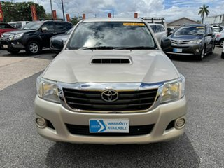 2014 Toyota Hilux KUN16R MY14 SR Double Cab 4x2 Gold 5 Speed Manual Utility.