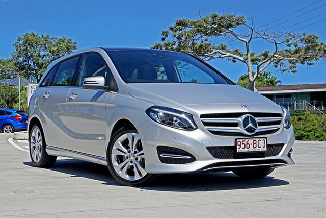 Used Mercedes-Benz B-Class W246 B200 DCT Capalaba, 2015 Mercedes-Benz B-Class W246 B200 DCT Silver 7 Speed Sports Automatic Dual Clutch Hatchback