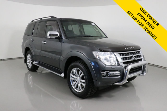 Used Mitsubishi Pajero NX MY15 GLS LWB (4x4) Bentley, 2015 Mitsubishi Pajero NX MY15 GLS LWB (4x4) Grey 5 Speed Auto Sports Mode Wagon