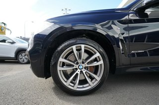 2016 BMW X6 F16 MY16 xDrive50i Carbon Black Metallic 8 Speed Automatic Coupe.