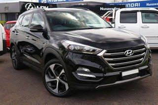 2015 Hyundai Tucson TLE Highlander AWD Black 6 Speed Sports Automatic Wagon.
