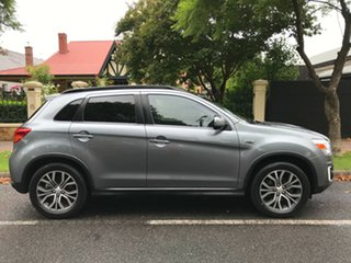 2016 Mitsubishi ASX XC MY17 XLS 2WD Silver 6 Speed Constant Variable Wagon