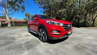 2016 Hyundai Tucson TLe MY17 Highlander D-CT AWD Red 7 Speed Sports Automatic Dual Clutch Wagon