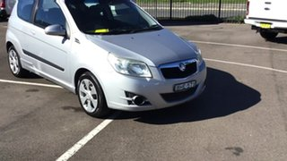 2009 Holden Barina TK MY09 Silver 5 Speed Manual Hatchback