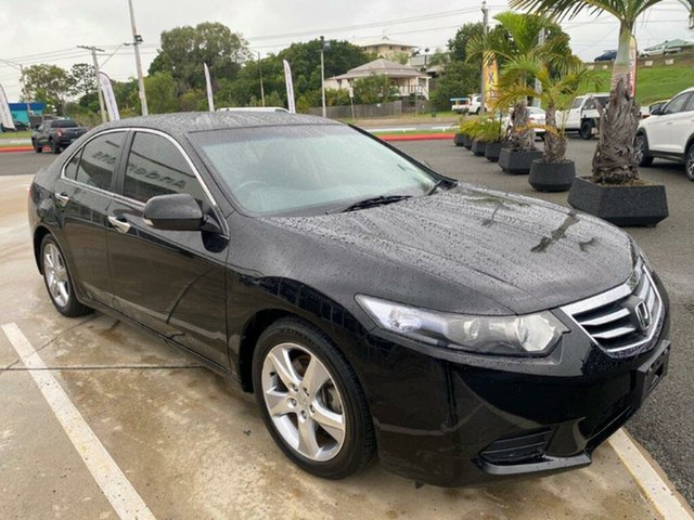 Used Honda Accord Euro CU MY11 Gladstone, 2011 Honda Accord Euro CU MY11 Black 5 Speed Automatic Sedan