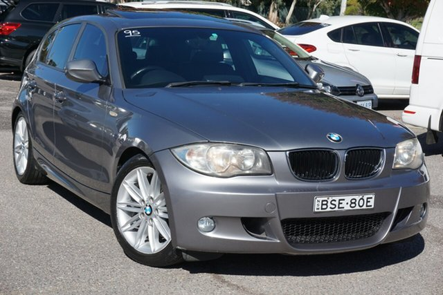 Used BMW 1 Series E87 MY10 118d Steptronic Phillip, 2010 BMW 1 Series E87 MY10 118d Steptronic Grey 6 Speed Sports Automatic Hatchback