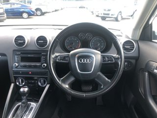 2011 Audi A3 8P MY11 TFSI Sportback S Tronic Attraction Silver 7 Speed Sports Automatic Dual Clutch