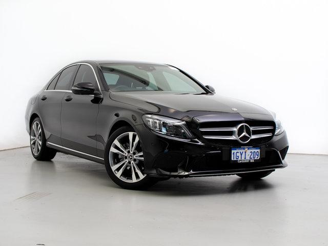 Used Mercedes-Benz C200 205 MY19 EQ (Hybrid), 2018 Mercedes-Benz C200 205 MY19 EQ (Hybrid) Black 9 Speed Automatic G-Tronic Sedan