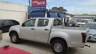 2015 Isuzu D-MAX MY15 SX Crew Cab 4x2 High Ride Silver 5 Speed Sports Automatic Utility.