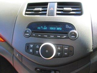 2012 Holden Barina Spark MJ MY12 CD Red 5 Speed Manual Hatchback