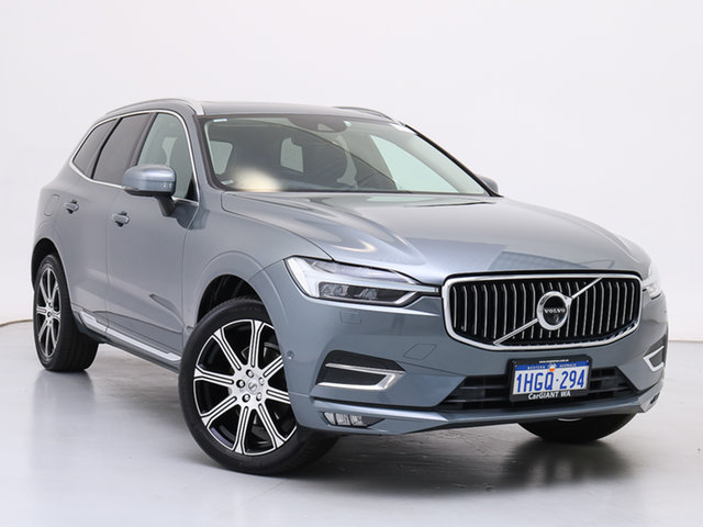 Used Volvo XC60 246 MY18 D4 Inscription (AWD), 2018 Volvo XC60 246 MY18 D4 Inscription (AWD) Grey 8 Speed Automatic Geartronic Wagon
