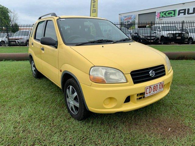 Used Suzuki Ignis RG413 GL Berrimah, 2003 Suzuki Ignis RG413 GL Yellow 5 Speed Manual Hatchback