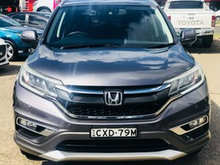 2014 Honda CR-V RM Series II MY16 VTi-S Grey 5 Speed Sports Automatic Wagon