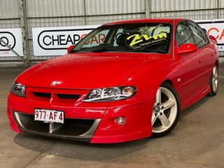 2001 Holden Special Vehicles ClubSport VX II Red 6 Speed Manual Sedan.