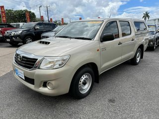2014 Toyota Hilux KUN16R MY14 SR Double Cab 4x2 Gold 5 Speed Manual Utility