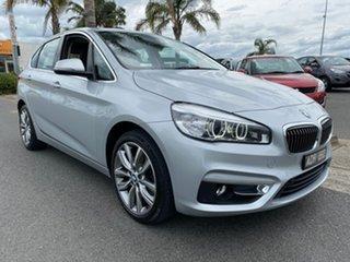 2015 BMW 2 Series F45 220i Luxury Line Silver Automatic Hatchback.