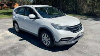 2013 Honda CR-V RM MY14 VTi White 5 Speed Automatic Wagon.