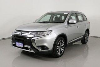 2019 Mitsubishi Outlander ZL MY19 ES 7 Seat (AWD) Silver Continuous Variable Wagon.