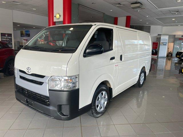 Used Toyota HiAce KDH201R LWB Artarmon, 2018 Toyota HiAce KDH201R LWB White 4 Speed Automatic Van