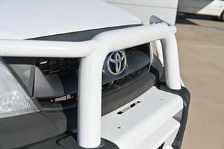 2010 Toyota Hilux KUN26R MY10 SR White 5 Speed Manual Dual Cab.