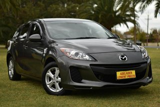 2012 Mazda 3 BL10F2 MY13 Neo Grey 6 Speed Manual Hatchback.