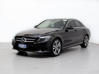 2018 Mercedes-Benz C200 205 MY19 EQ (Hybrid) Black 9 Speed Automatic G-Tronic Sedan.