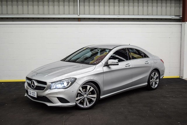 Used Mercedes-Benz CLA200 117 MY15 Canning Vale, 2015 Mercedes-Benz CLA200 117 MY15 Silver 7 Speed Automatic Coupe