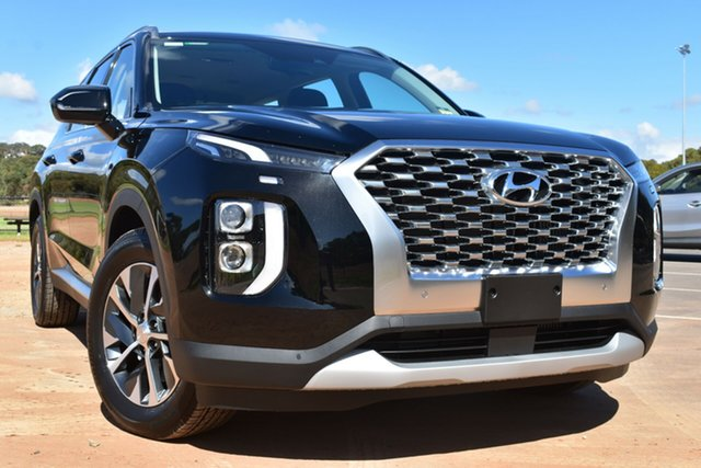 New Hyundai Palisade LX2.V1 MY21 AWD St Marys, 2021 Hyundai Palisade LX2.V1 MY21 AWD Timeless Black 8 Speed Sports Automatic Wagon