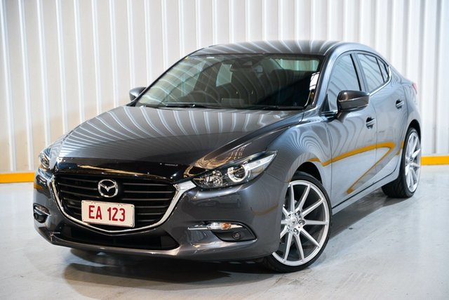 Used Mazda 3 BN5236 SP25 SKYACTIV-MT Hendra, 2018 Mazda 3 BN5236 SP25 SKYACTIV-MT Grey 6 Speed Manual Sedan