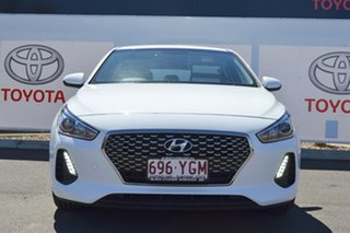 2018 Hyundai i30 PD2 Trophy Limited Edition White 6 Speed Auto Sequential Hatchback.