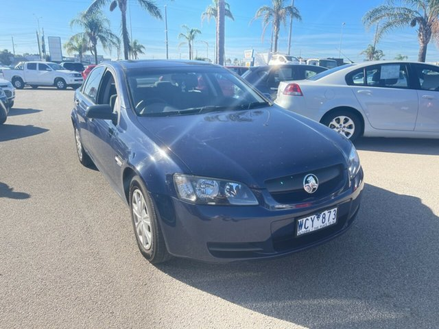 Used Holden Commodore VE Omega Moorabbin, 2007 Holden Commodore VE Omega Blue 4 Speed Automatic Sedan