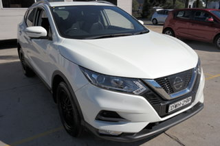 2017 Nissan Qashqai J11 Series 2 ST-L X-tronic White 1 Speed Constant Variable Wagon.