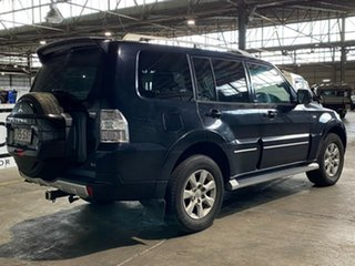 2011 Mitsubishi Pajero NT MY11 30th Anniversary Black 5 Speed Sports Automatic Wagon