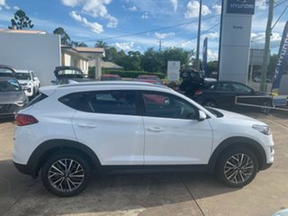 2020 Hyundai Tucson TL4 MY21 Active X 2WD White Pearl 6 Speed Automatic Wagon
