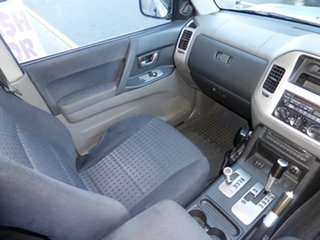 2006 Mitsubishi Pajero NS VR-X LWB (4x4) Silver 5 Speed Auto Sports Mode Wagon.